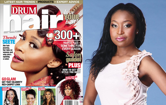 Love your hair with DRUM magazine