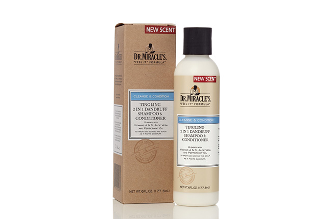 Dr Miracles Tingling 2in1 Dandruff Shampoo & Conditioner