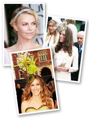 All access accessories for your hair - Charlize Theron, Kate Middleton and Sarah-Jessica Parker