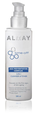Almay Time Off 2 in 1 Celanser and Toner