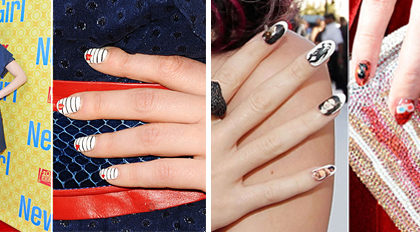 Our favourite celebrity nail art