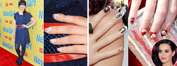 BeautySouthAfrica - Hair & Nails - Our favourite celebrity nail art