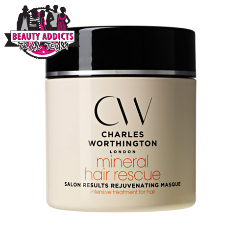 Charles Worthington Mineral Hair Rescue Salon Results Rejuvenating Masque