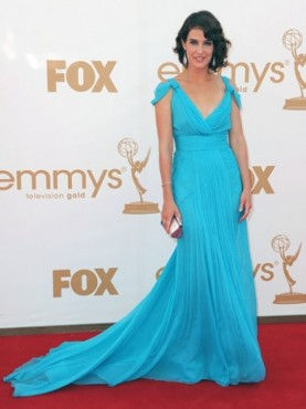Cobie Smulders at the Emmys