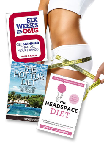 Diet books with a gimmick