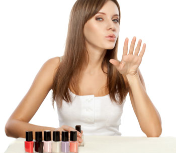 Dry your nails fast!