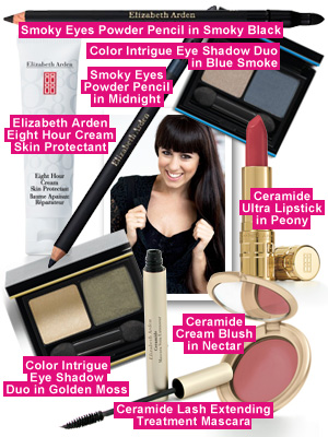 Get the Romantic look with Gina Myers and Elizabeth Arden