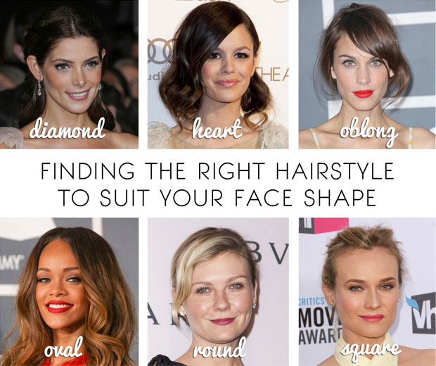 BeautySouthAfrica - How-To - Find the right hairstyle for your face ...
