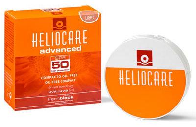 Heliocare Advanced SPF50 Oil Free Compact
