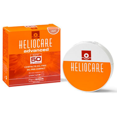 Heliocare Advanced SPF50 Oil Free Compact