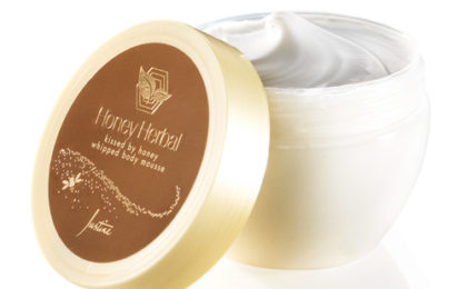 Justine Honey Herbal Kissed by Honey Whipped Body Mousse