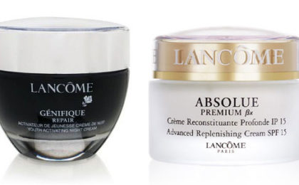 Lancôme brings back memories