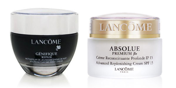 Lancome Genifique and Absolue Premium