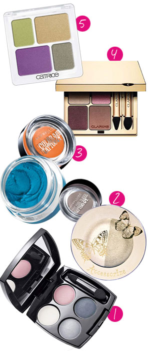 Most reviewed eye shadows 2012