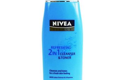 Nivea Visage Refreshing 2 in 1 Cleanser and Toner