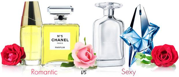 Sexy perfume scents