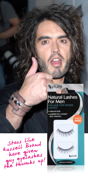 russell brand and guy lashes