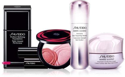 Shiseido's bag of goodies