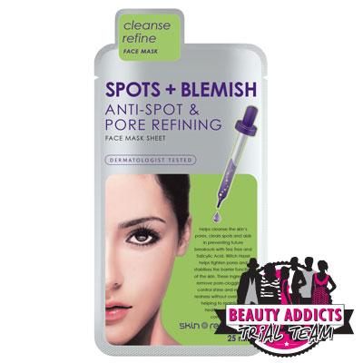 Skin Republic Spots + Blemish Face Mask Sheet