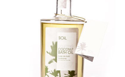 SOiL Uplifting Coconut Bath Oil