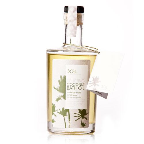 SOiL Uplifting Coconut Bath Oil