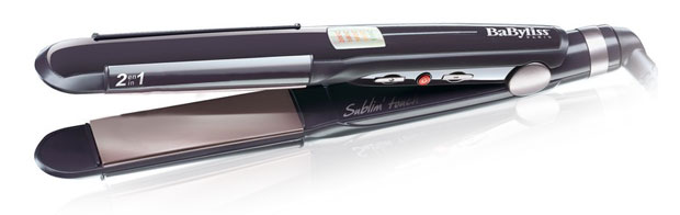 Styling iron showdown: BaByliss Sublim' Touch 2-in-1