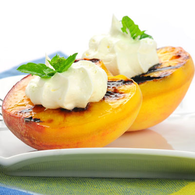 Sumptuous summer recipes: Grilled Peaches
