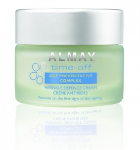 almay time off wrinkle defence