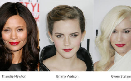 The hottest red lips in Tinseltown