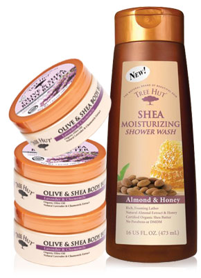 Tree Hut Body wash and butter