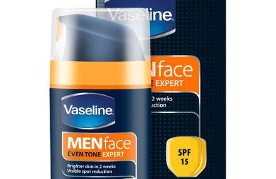 Vaseline Men Face Even Tone Expert Moisturiser SPF 15