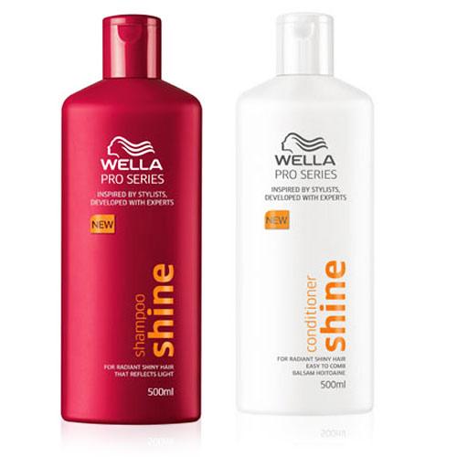 Wella Pro Series Shine Shampoo & Conditioner