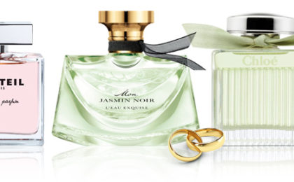 Wonderful wedding fragrances