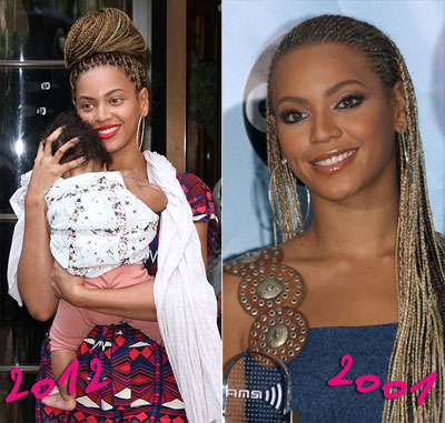 Beyonc 233 Back In Braids Hair Amp Nails Beauty South