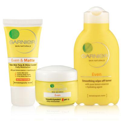 BeautySouthAfrica - Skin & Body - Garnier Even review Garnier Skin Products
