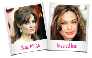 Know your face shape - Angelina