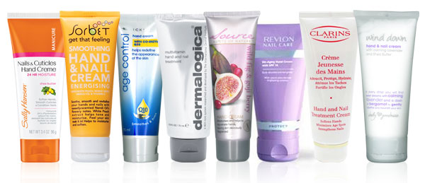 Handy hand creams: Sally Hansen, Sorbet, Clicks, Dermalogica, Source, Revlon, Wind Down, Clarins
