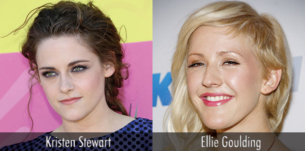 Kristen Stewart and Ellie Goulding