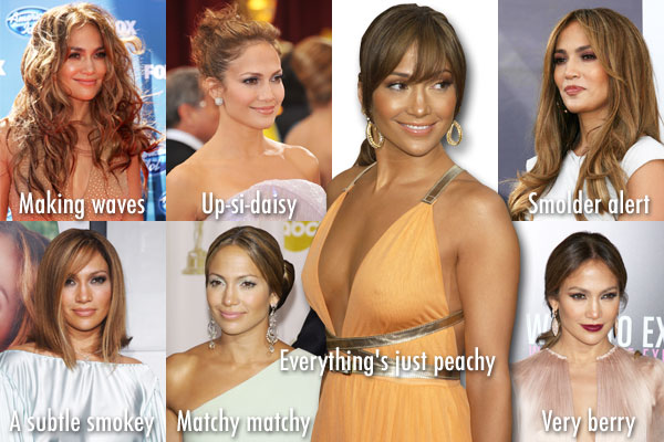 Jennifer Lopez's top looks
