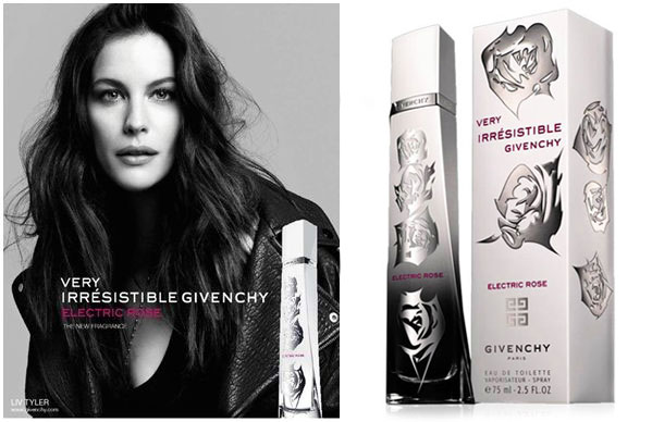 Liv Tyler Gicenchy Electric Rose