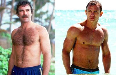 Men and body hair