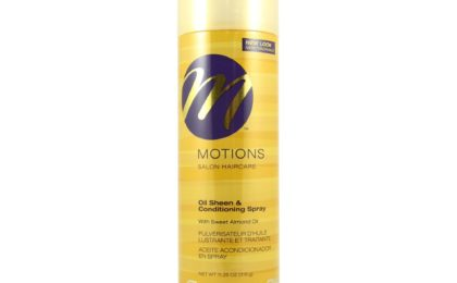 Motions Oil Sheen and Conditioning Spray