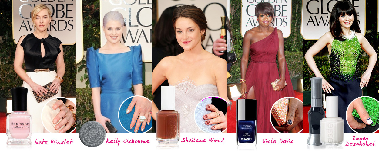 stars red carpet manis