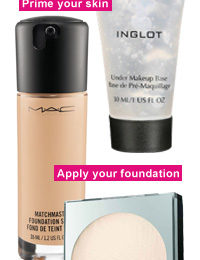 Four steps to an immaculate complexion