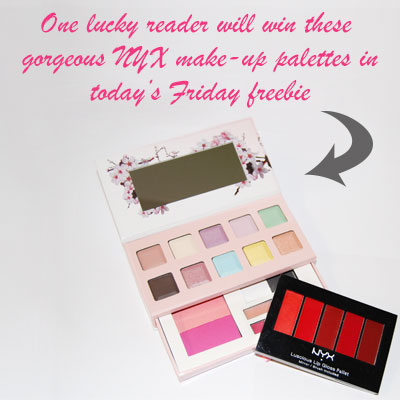 NYX Friday freebie