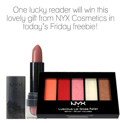 Win with NYX lip glosses