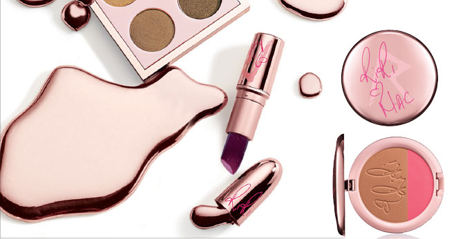 Rihanna's Riri Hearts MAC make-up collection