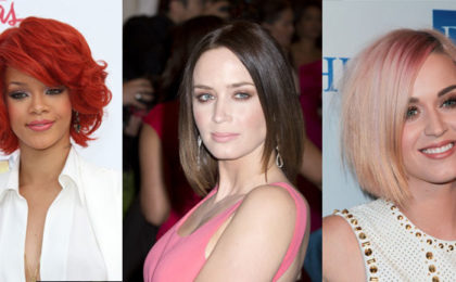 Our favourite celebrity bob hairstyles