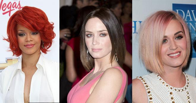 Celebrity bob haircuts