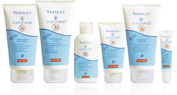 Yardley Oatmeal Spot Clear hamper